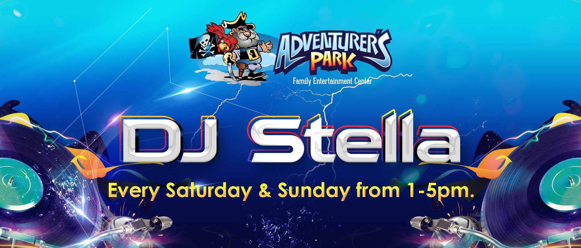DJ Stella at Adventurer's Park